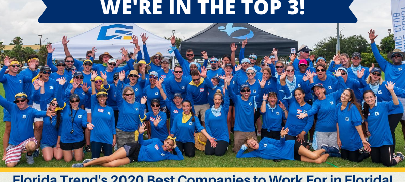 Bentek Named Top Companies To Work For In Florida